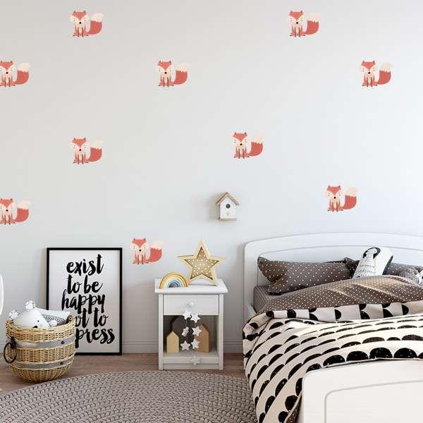 لیست قیمت 30 مدل استیکر اتاق کودک جدید + خرید