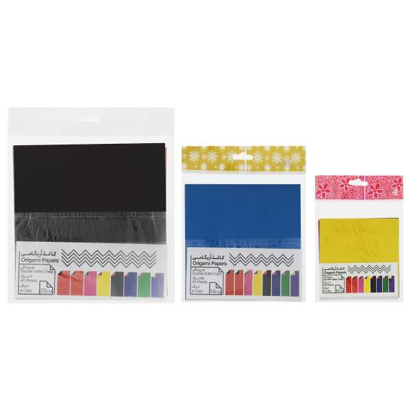 خرید آنلاین 30 مدل کاغذ اوریگامی خوش رنگ و با کیفیت + قیمت مناسب