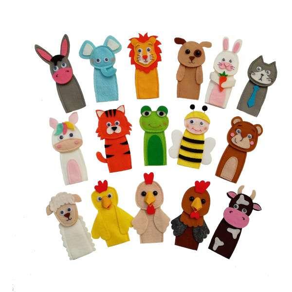 30 مدل عروسک انگشتی و تئاتر خانگی زیبا و سرگرم کننده + خرید